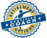 Retirement Options Certified Coach Certification Seal